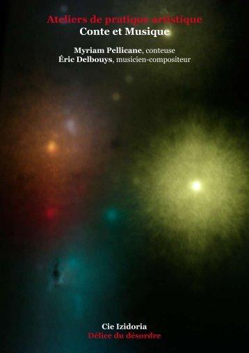 Ateliers de pratique artistique Conte et Musique - Myriam Pellicane