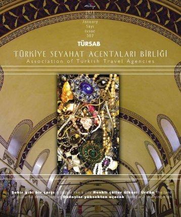 Ocak 2011 - Türkiye Seyahat Acentaları Birliği