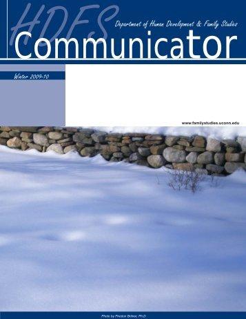 HDFS Communicator, Winter 2009/10 - Human Development and ...