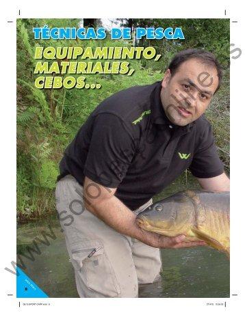EQUIPAMIENTO, MATERIALES, CEBOS... - Solopescaonline.es