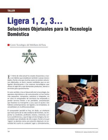 Taller Ligera 1, 2, 3… - Revista El Mueble y La Madera