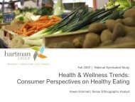 Health & Wellness Trends: Consumer Perspectives on Healthy Eating ...