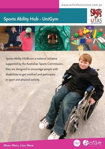 Sports Ability Hub - UniGym - Active Launceston