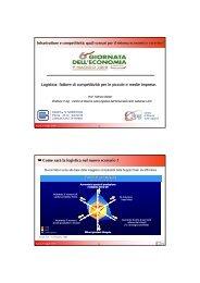 Logistica: fattore di competitività per le piccole e medie imprese ...