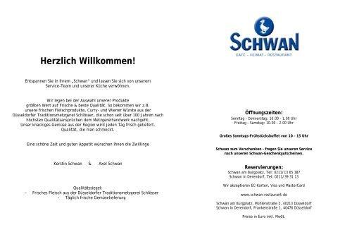 Herzlich Willkommen! - Schwan