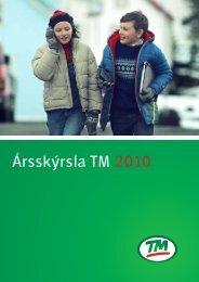 Ársskýrsla TM 2010 - Tryggingamiðstöðin