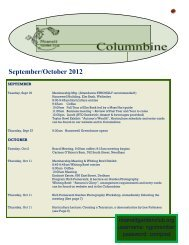 September/October 2012 - Noanett Garden Club