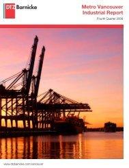 Metro Vancouver Industrial Report - DTZ