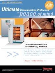 peaceof mind - Thermo Scientific