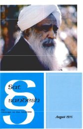 August 1976 - Ruhani Satsang USA