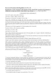 Decreto Presidente della Repubblica n. 54 del 14-01-97 - Fedagri