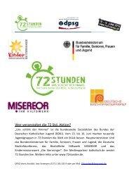 Projektbeschreibung zur 72-Stunden Aktion - Grundschule Veert
