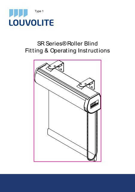 How To Fit Spring Operated Roller Blinds Merit