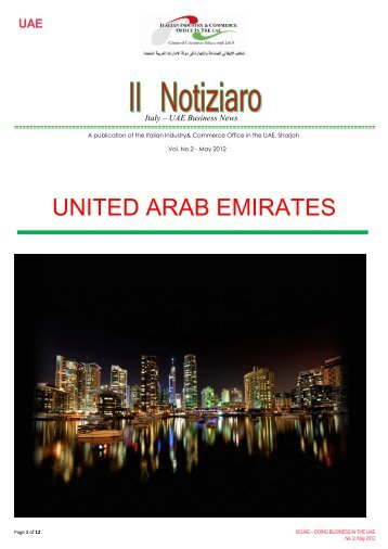 united arab emirates - Italian Industry & Commerce Office in the UAE