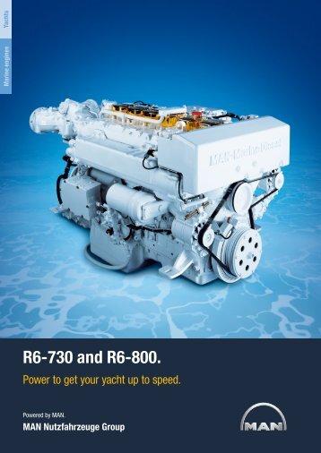 R6-730 and R6-800. MAN Nutzfahrzeuge Group