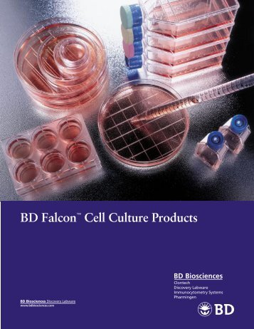 BD Falcon™ Cell Culture Products - Bacto Laboratories