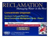 Southern California Regional Brine - Concentrate Management Study