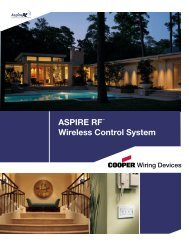 ASPIRE RF™ Wireless Control System - CTD