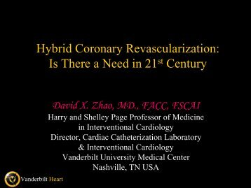 Hybrid Coronary Revascularization: Is There a Need in 21 Century