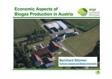 Economic Aspects of Biogas Production in Austria - Biogasheat