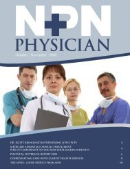 October / November 2008 - Northwest Physicians Network