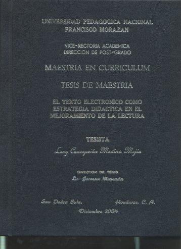 Lexy Concepcion Medina Mejia - UPNFM