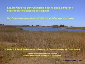 presentation - Facultad de Agronomía - Universidad de Buenos Aires