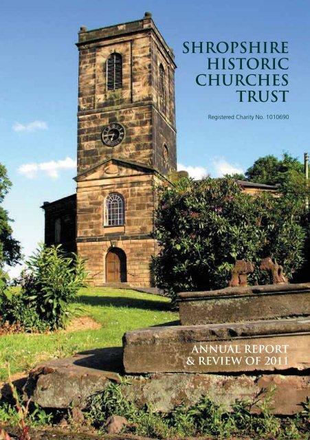 Annual Report 2011 - Shropshire Historic Churches Trust