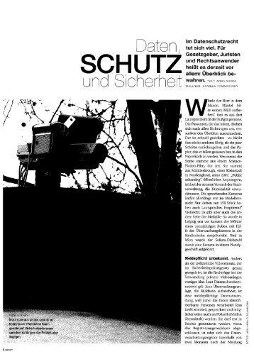 """Videoüberwachung - Recht-Magazin der """"Presse"""" - Preslmayr ..."""