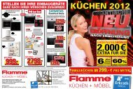 glanz - Flamme Möbel Düsseldorf