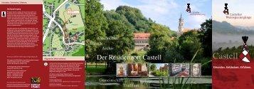 Flyer »Casteller Weinspaziergänge« als PDF-Dokument