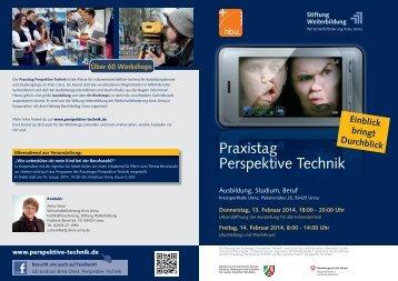 Infofolder mit Ausstellungsplan und Workshopübersicht - Stiftung ...