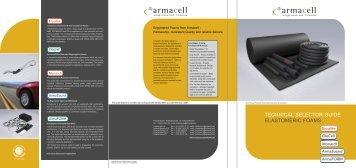 Technical SelecTor Guide elaSToMeric foaMS - Armacell