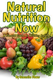 Natural Nutrition Now - Trans4mind