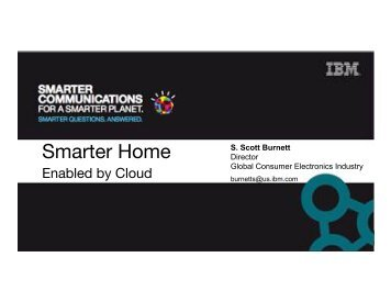 "IBM ""Smart Home Overview"" - Continental Automated Buildings ..."