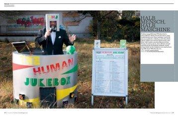 halb mensch, halb maschine - the human jukebox