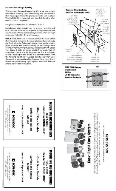 knox box wiring diagram wiring diagrams