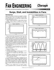 Surge, Stall, and Instabilities in Fans - Clarage