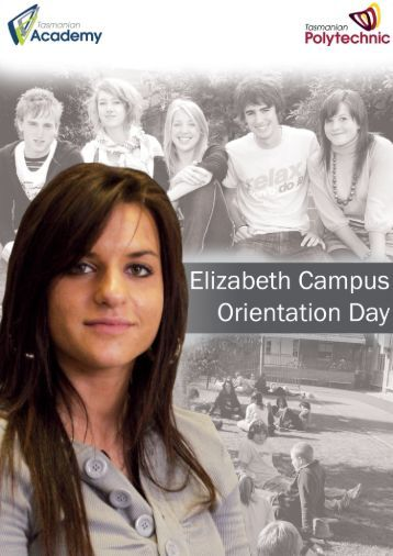 course planner for orientation day - Tasmanian Academy