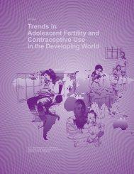 Trends in Adolescent Fertility and Contraceptive ... - Census Bureau