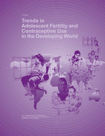 Trends in Adolescent Fertility and Contraceptive ... - Census Bureau