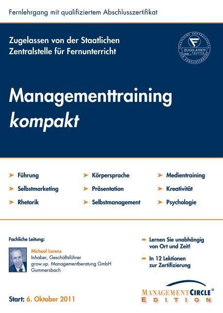 Managementtraining kompakt - Management Circle AG