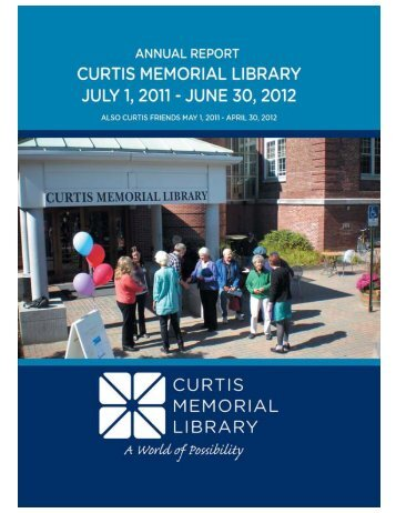 2011-12 Annual Report - Curtis Memorial Library