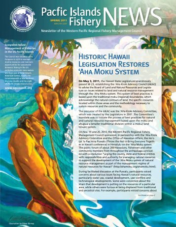 2011 Summer - Western Pacific Fishery Council