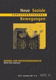 Vollversion (1.42 MB) - Forschungsjournal Soziale Bewegungen