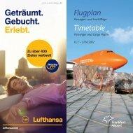 Flugplan - Frankfurt