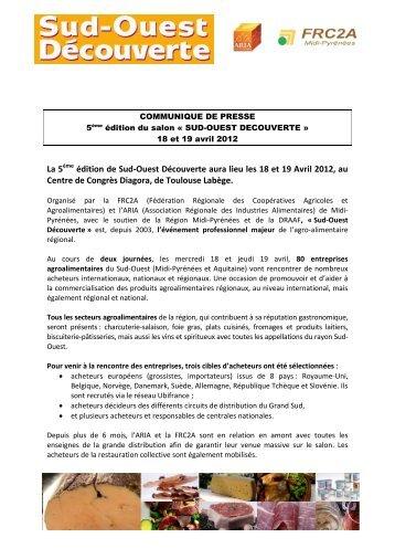Communiqué de Presse 14-03-12 - Alim-mp