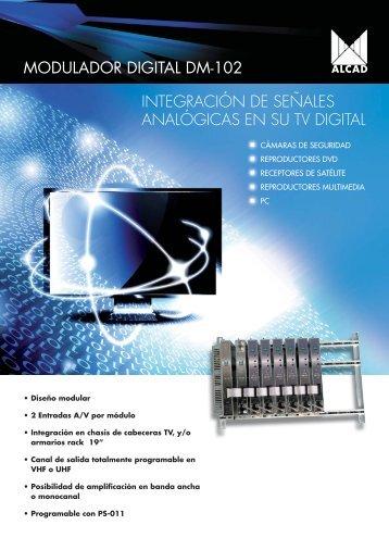 MODULADOR DIGITAL DM-102 INTEGRACIÓN DE ... - Alcad