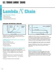 Lambda Chain - Federal Industrial Sales