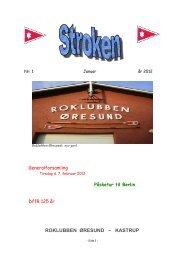 Stroken blad 1 - Roklubben Øresund